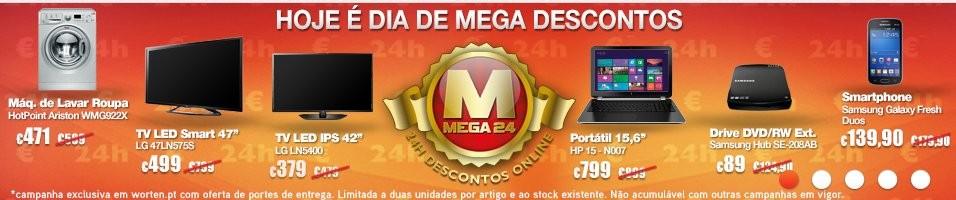 Mega24 | WORTEN | hoje dia 21 janeiro