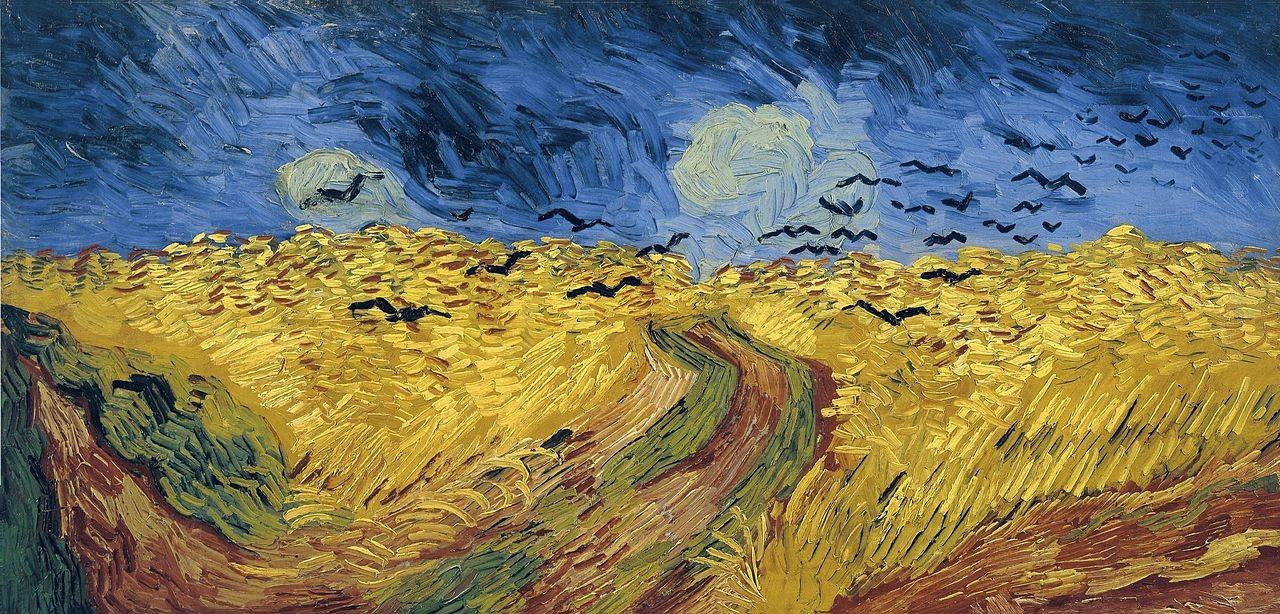 Campo de trigo com corvos Vincent_Van_Gogh