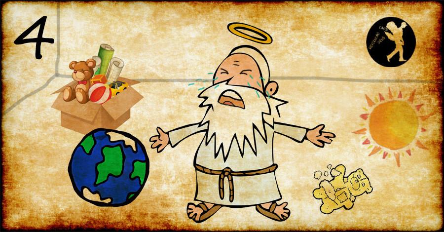 Deus é um puto mimado 4