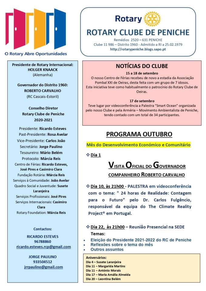 Programa de outubro do Rotary Clube de Peniche_pag