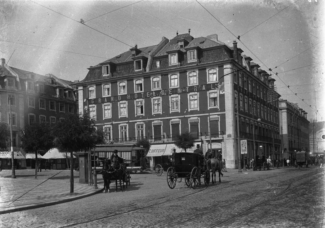 Grande Hotel Central, início séc. XX, foto de Jo