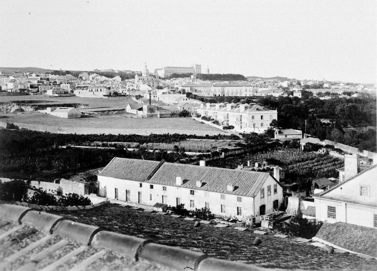 Panorâmica das Terras do Forno, ant. 1940, foto d