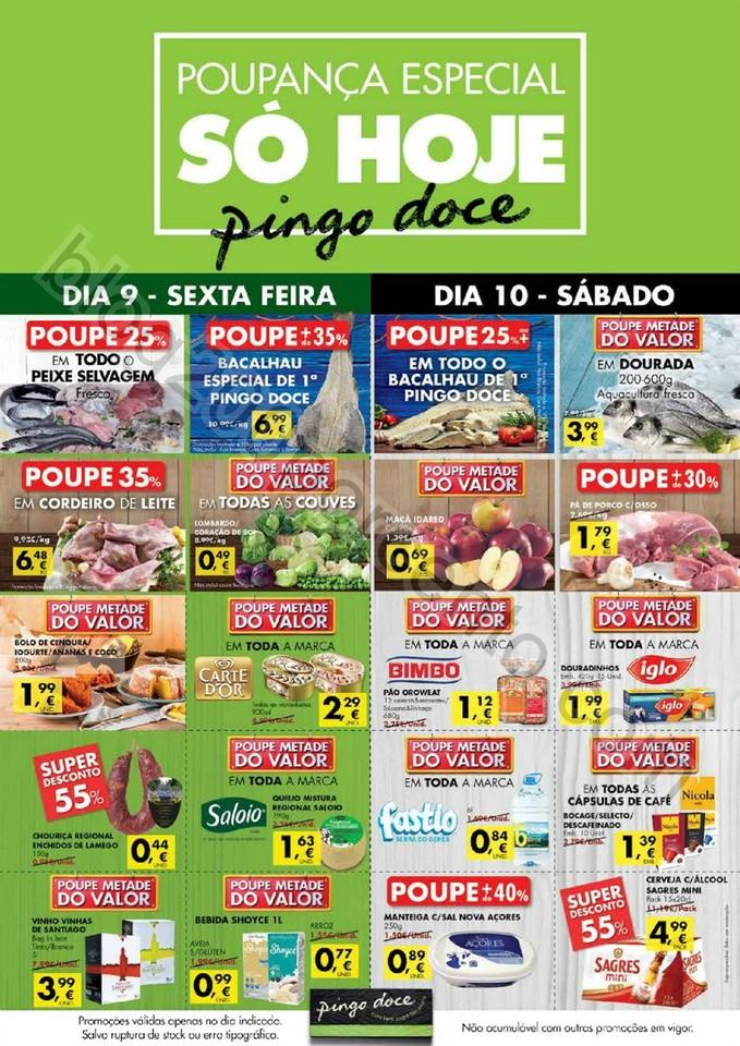 Novo Folheto PINGO DOCE Extra poupança de 9 a 11
