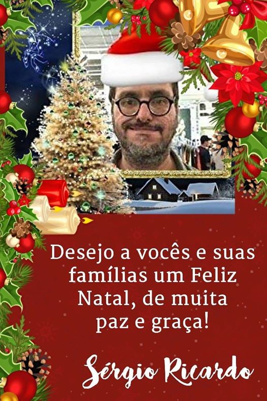 FELIZ NATAL PARA TODOS OS AMIGOS E AMIGAS !