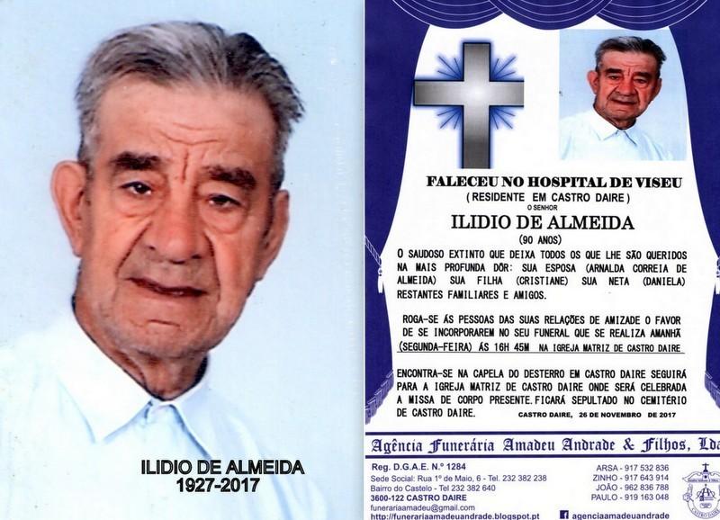 FOTO RIP DE ILDIO DE ALMEIDA-90 ANOS (CASTRO DAIRE