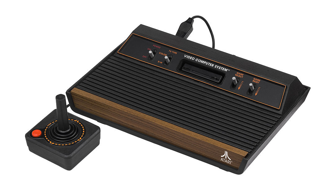 Fotografia da Atari 2600
