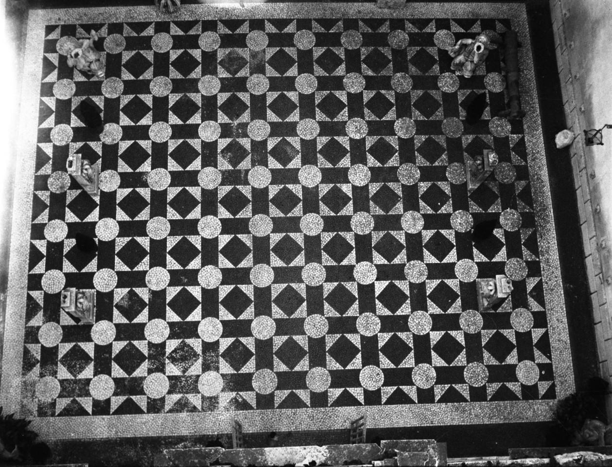 Calçada Portuguesa, Palácio Galveias, 1940, foto