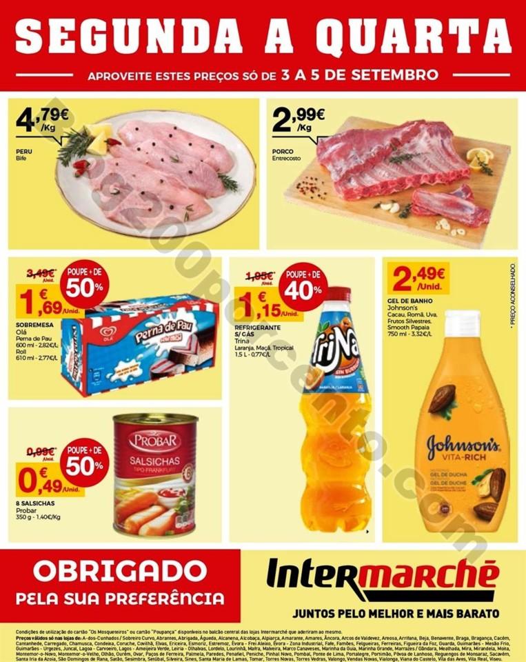 Antevisão Folheto 2ªa4ªfeira Intermarché 3a5set