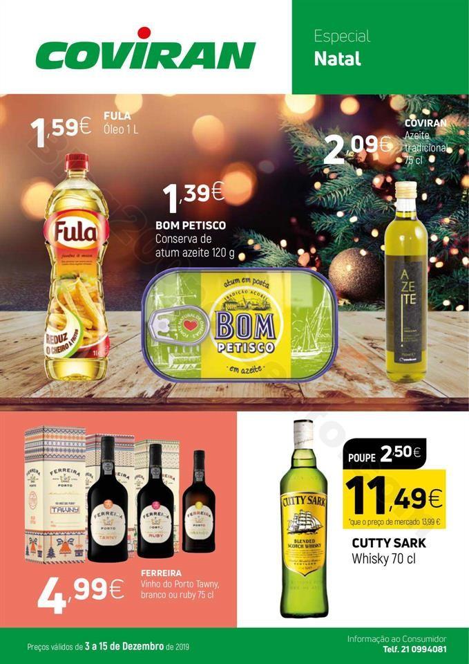 Antevisão Folheto COVIRAN Promoções de 3 a 15 d