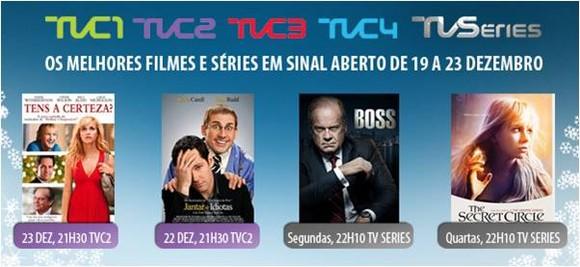 MEO - canais TV Cine e TV Séries em sinal aberto