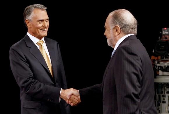 Manuel Alegre e Cavaco Silva