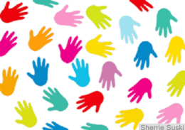 Black-Background-Communication-Hands-Colorful-5656
