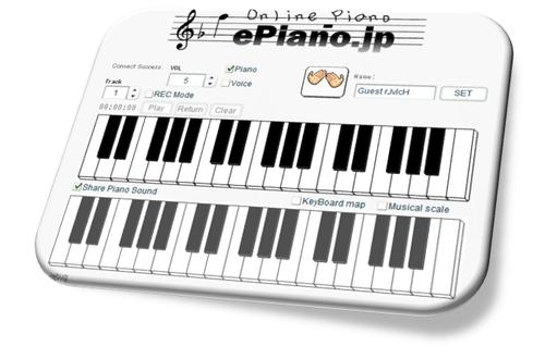 tocar piano online