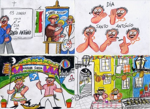 Desenho das Festas de Santo António