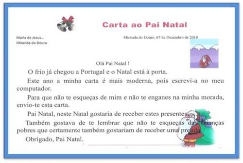 Carta Pai Natal