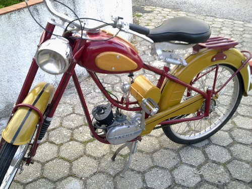 sachs minor 1967 rara e restaurada, so 3000 eur