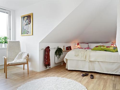 Apartamento com terraço interior
