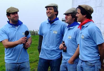 A comissão de serviço na actuação para a TV Azores Global...