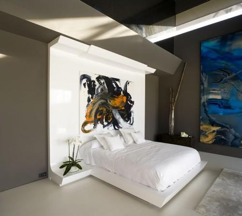 Um quarto amplo e moderno Decoração e Ideias