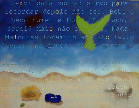 Palavras e cores simples na originalidade da Vera Ataíde Bettencourt...