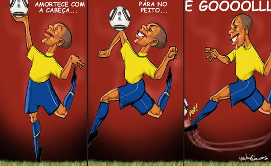 Futebol estilo canarinho