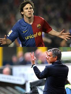"""O """"Barça"""" de Guardiola e o """"Inter"""" de Mourinho. O tudo ou nada desta noite..."""