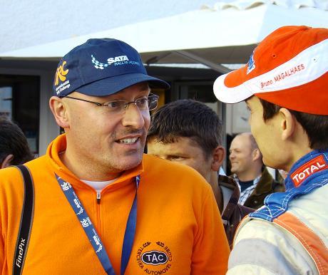 No final do SATA Rali Açores deste ano, à conversa com o tri-campeão Bruno Magalhães...