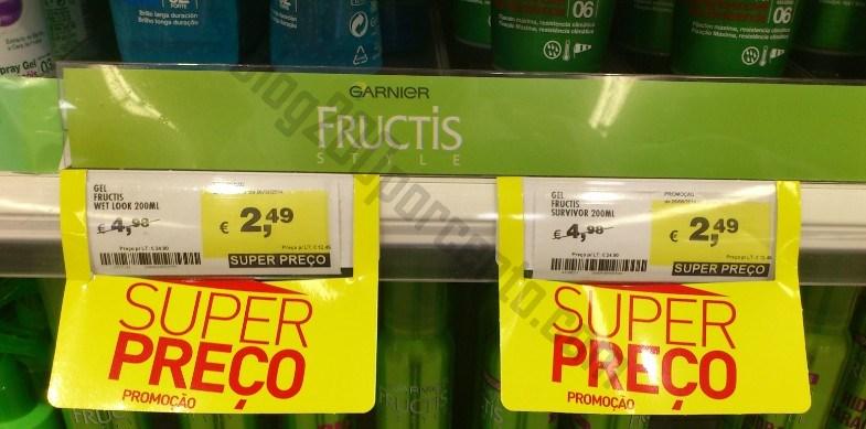 Acumulação 50% + 50% CONTINENTE até 31 agosto - Fructis