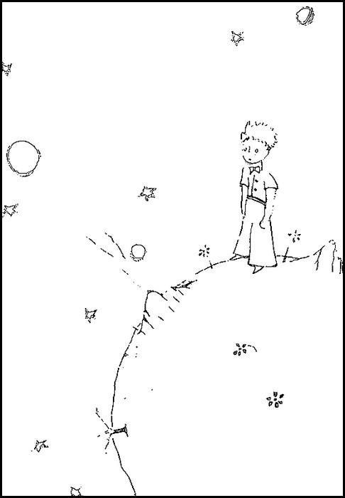Pequeno Principe Desenhos Para Colorir E Imprimir