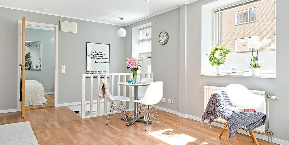 Cinza para um espa o bem organizado decora o e ideias - Fotos salones pintados ...