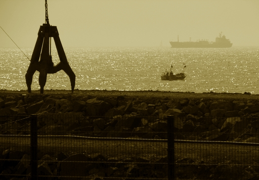 perto do porto
