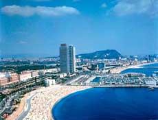 Praia de barcelona