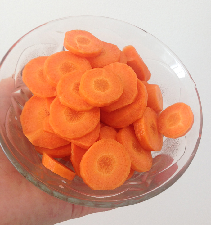 cenoura crua