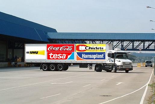 camião da coordenação da coligação