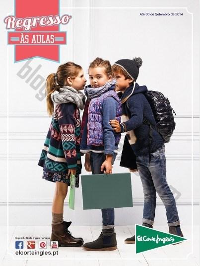 Novo Folheto EL CORTE INGLÉS Regresso às aulas até 30 setembro