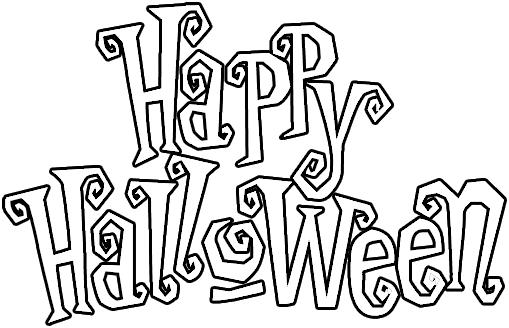 Letras para Halloween - Imagui