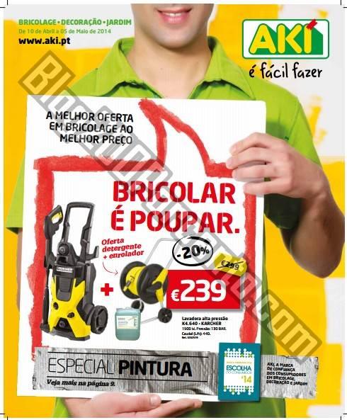 Novo folheto   AKI   de 10 abril a 5 maio - Especial Pintura