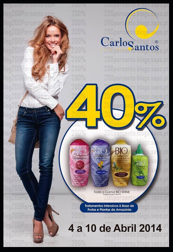 40% de desconto imediato   CARLOS SANTOS HS   até 10 abril