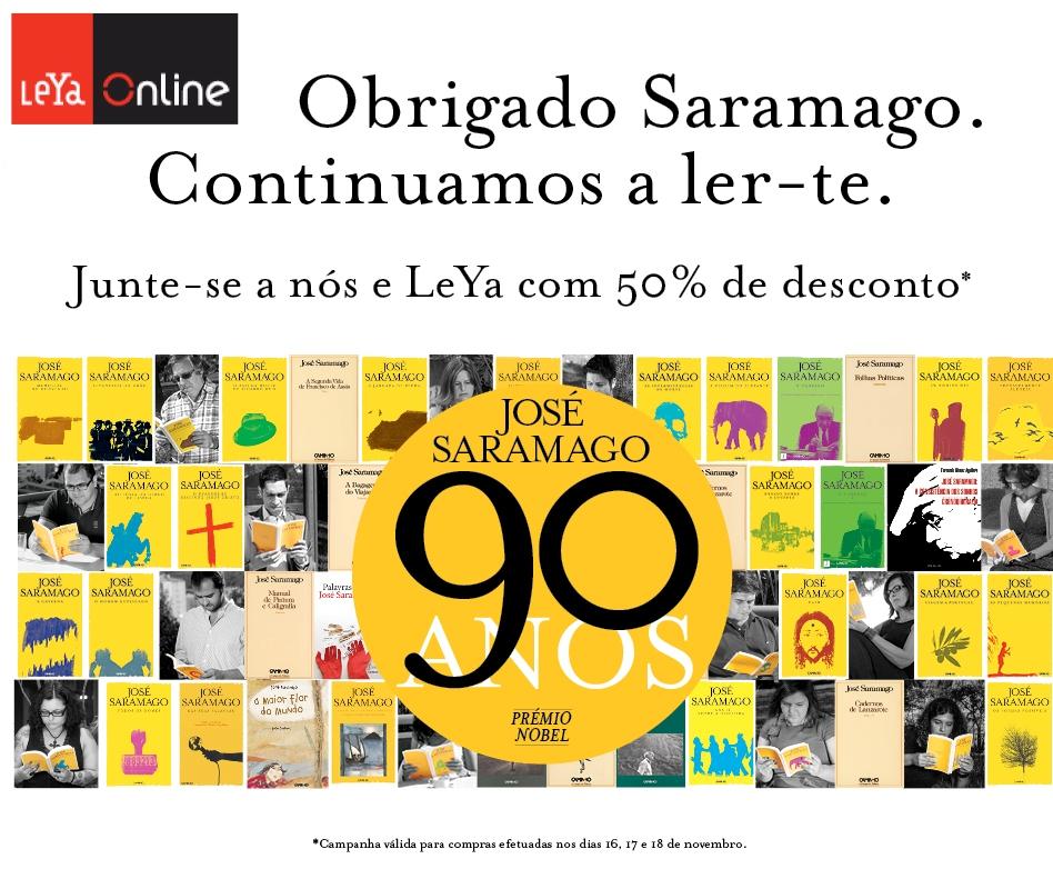 Obrigado Saramago. Continuamos a ler-te.