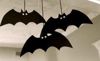 Molde De Morcegos Para Halloween Figuras De Morcegos Para
