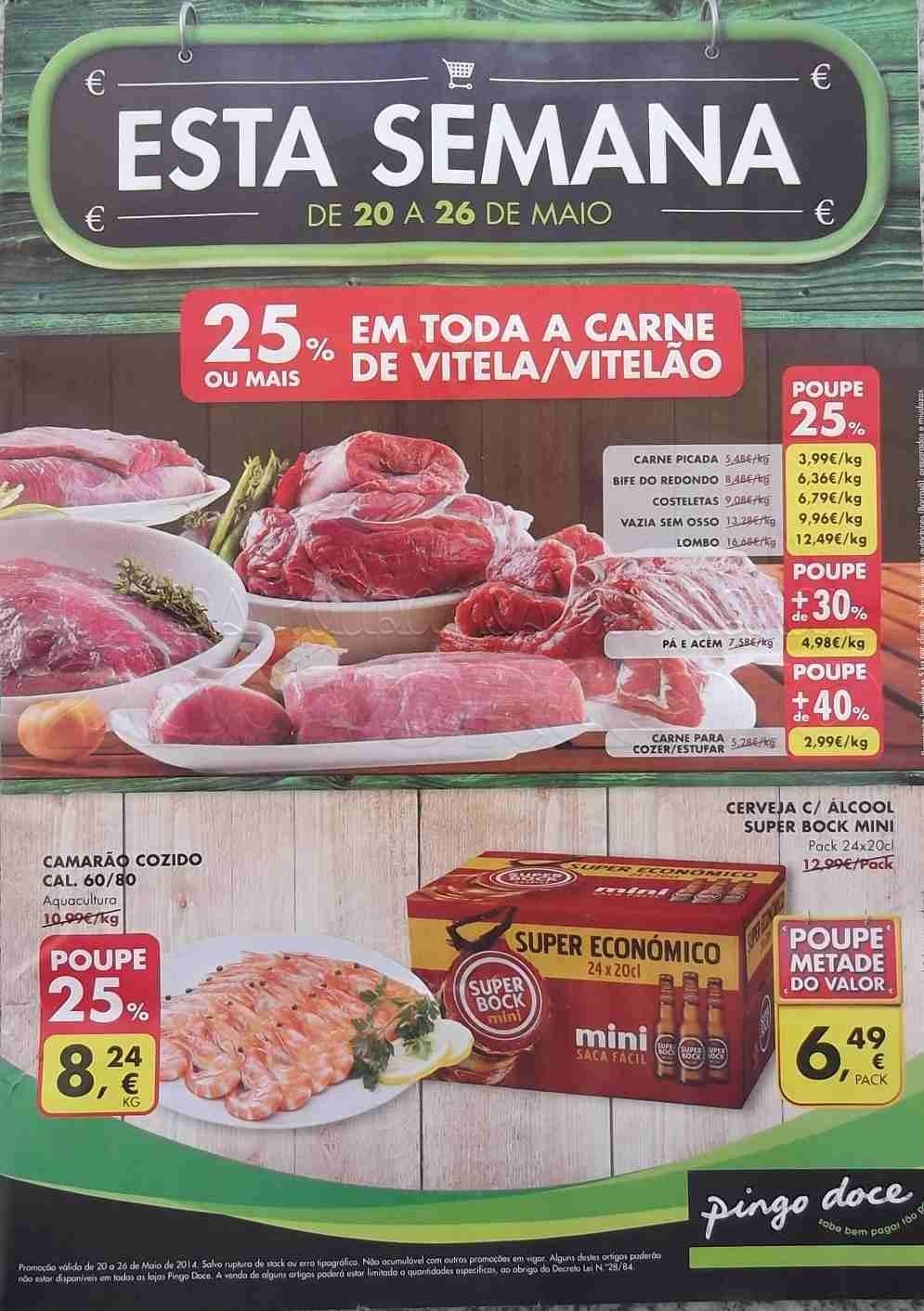Antevisão Promoções Novo Folheto Pingo Doce - de 20 a 26 maio - Parte1