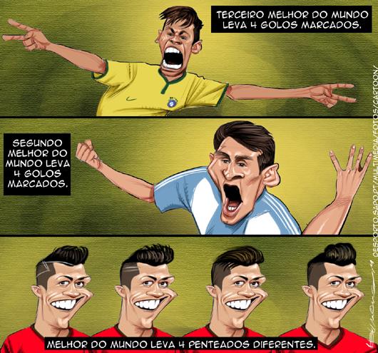 Cartoons - Os melhores do mundo no mundial do Brasil