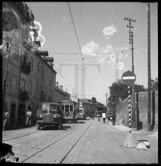 Estrada de Benfica, Sete Rios (Col. d' «O Século»)